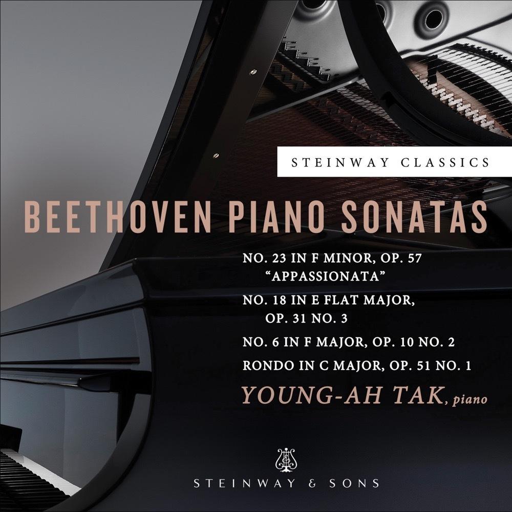 Beethoven: Sonatas Op. 10 No. 2, Op. 31 No. 3, Op. 57 / Young-ah Tak