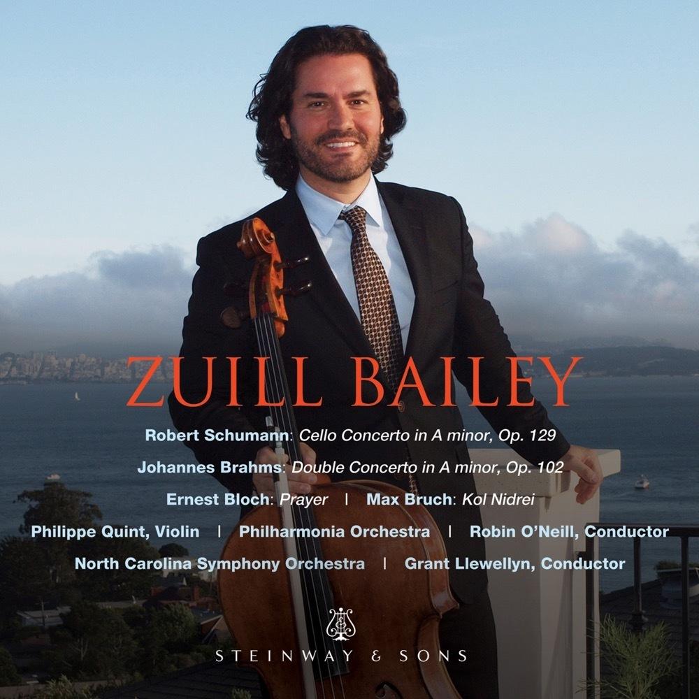 Schumann: Cello Concerto; Brahms: Double Concerto / Zuill Bailey