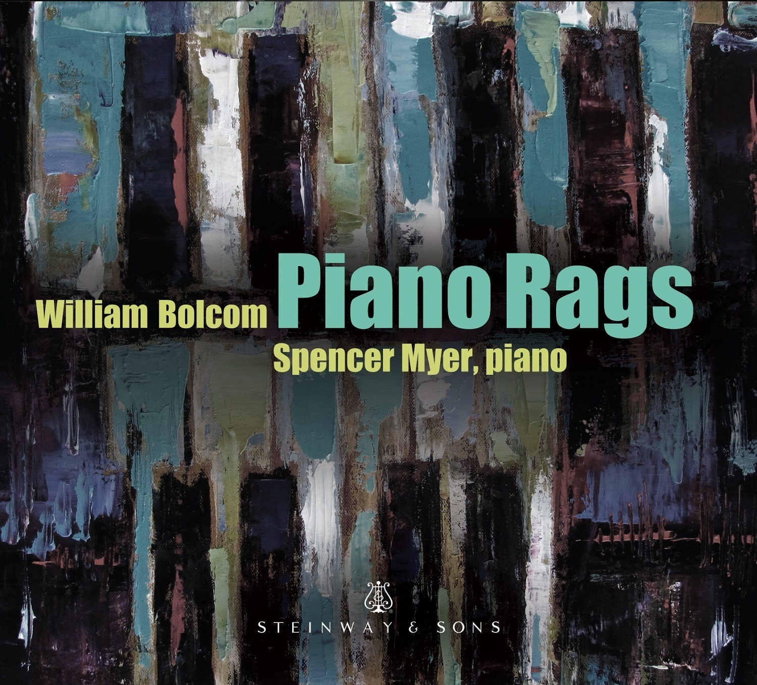Bolcom: Piano Rags / Spencer Myer