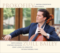 Prokofiev: Sinfonia Concertante, Cello Sonata / Zuill Bailey